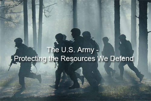 US Army Story Map - The U.S. Army - Protecting the Resources We Defend