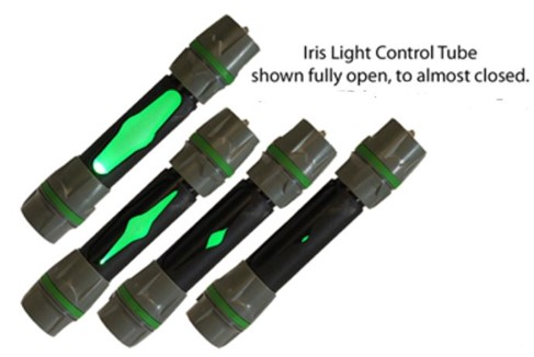 Iris Light Control Tube